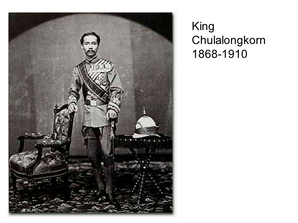 King Chulalongkorn 1868-1910