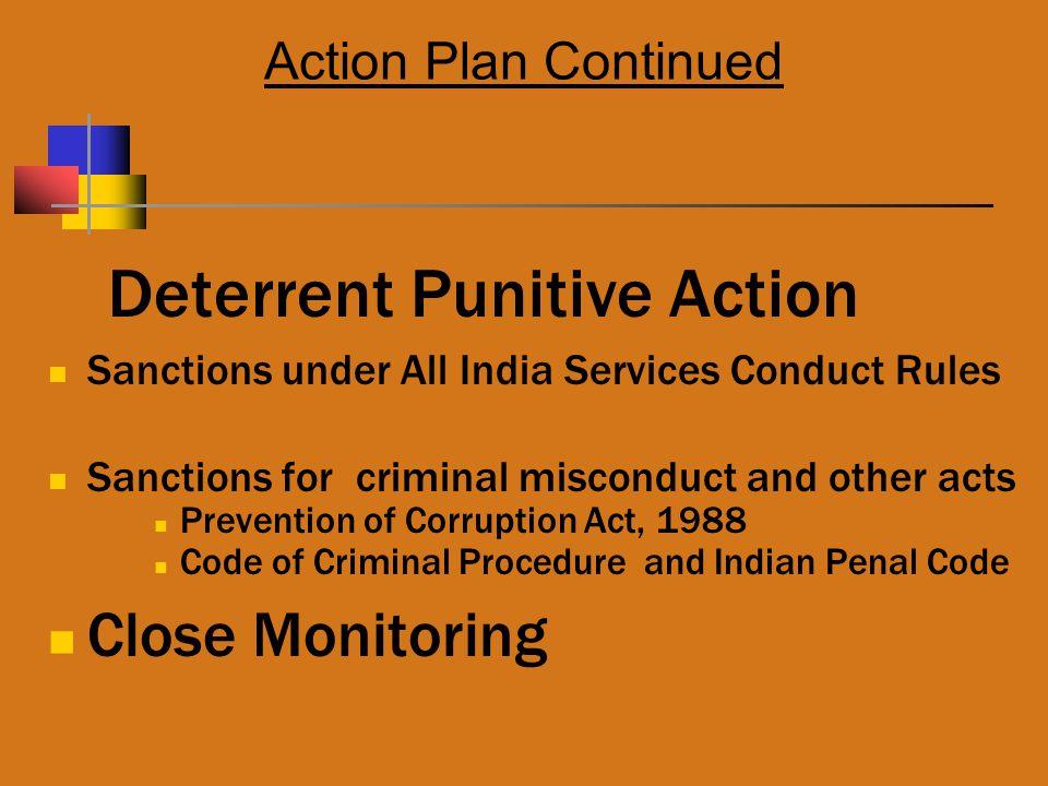 Deterrent Punitive Action
