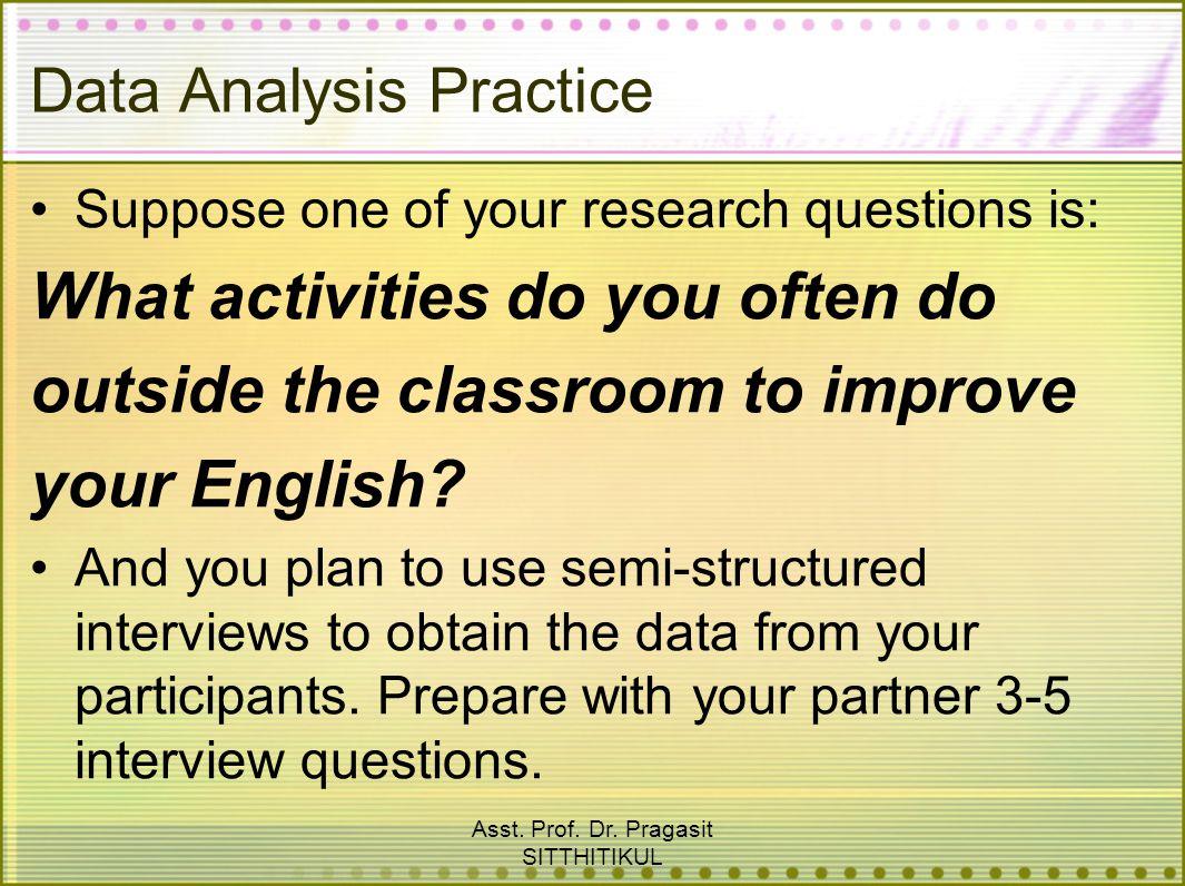 Data Analysis Practice