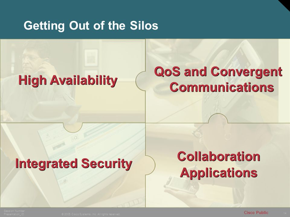 Getting Out of the Silos