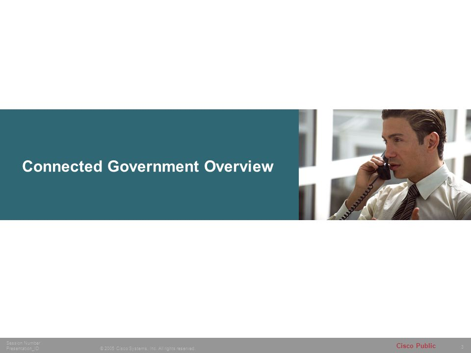 Connected Government Overview