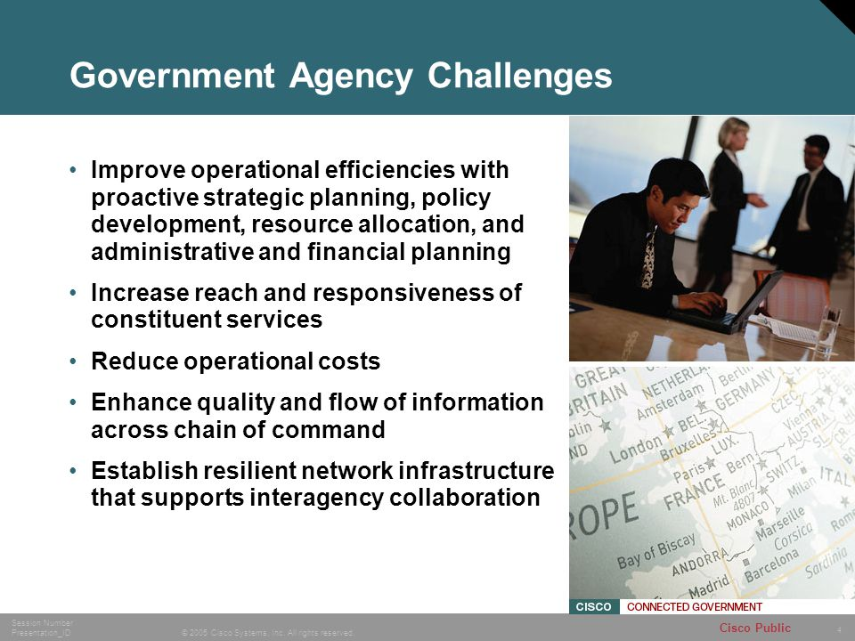 Government Agency Challenges