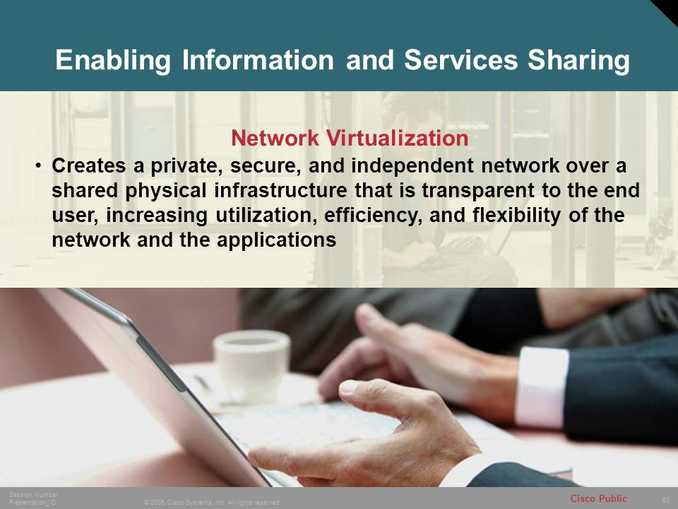 Enabling Information and Services Sharing