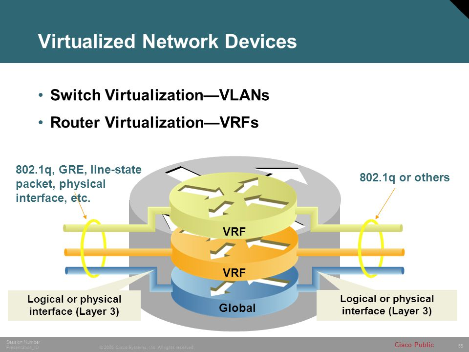 Virtualized Network Devices