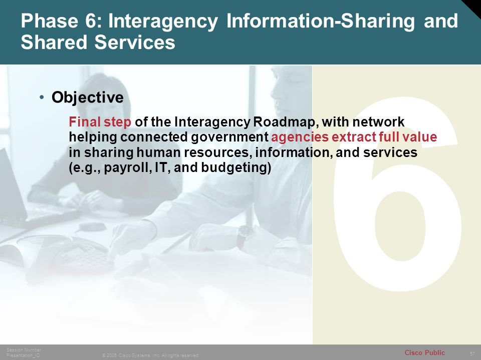Phase 6: Interagency Information-Sharing and Shared Services