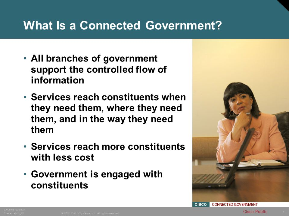 What Is a Connected Government