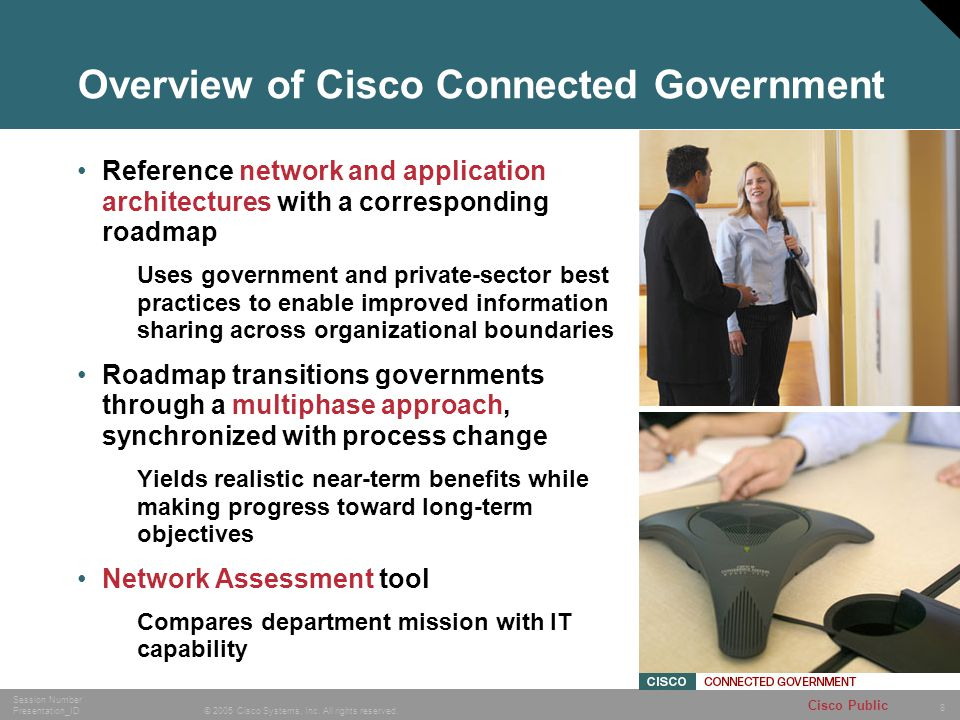Overview of Cisco Connected Government