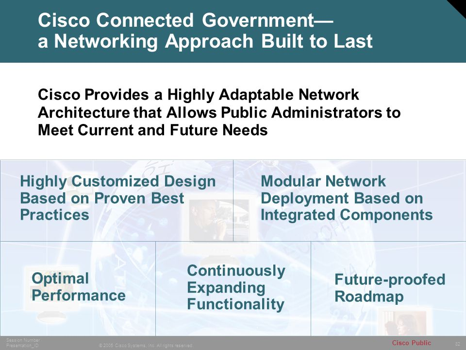 Cisco Connected Government— a Networking Approach Built to Last