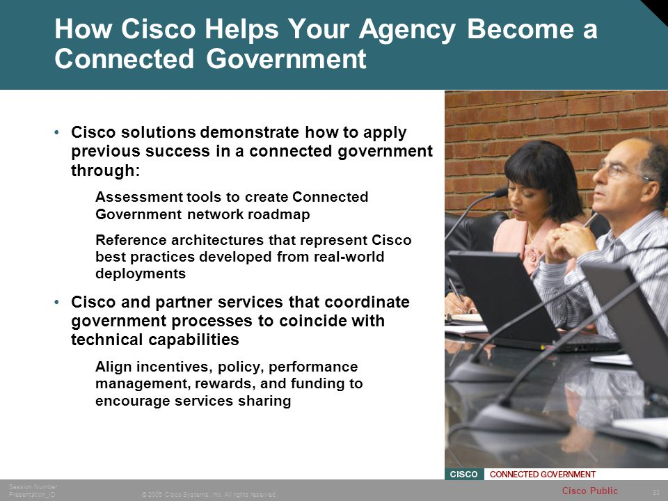 How Cisco Helps Your Agency Become a Connected Government