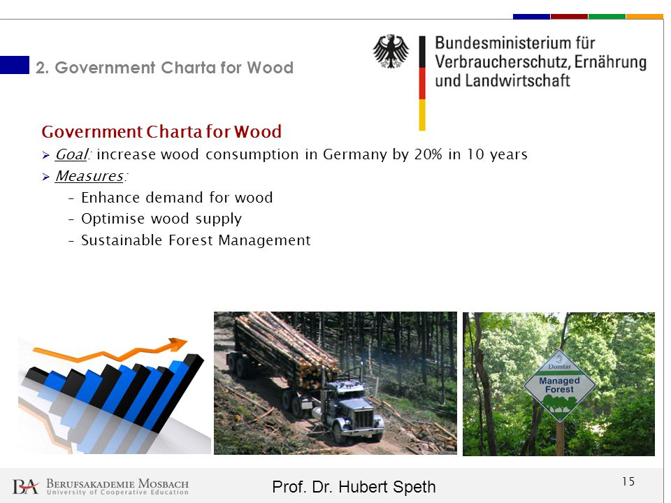 2. Government Charta for Wood