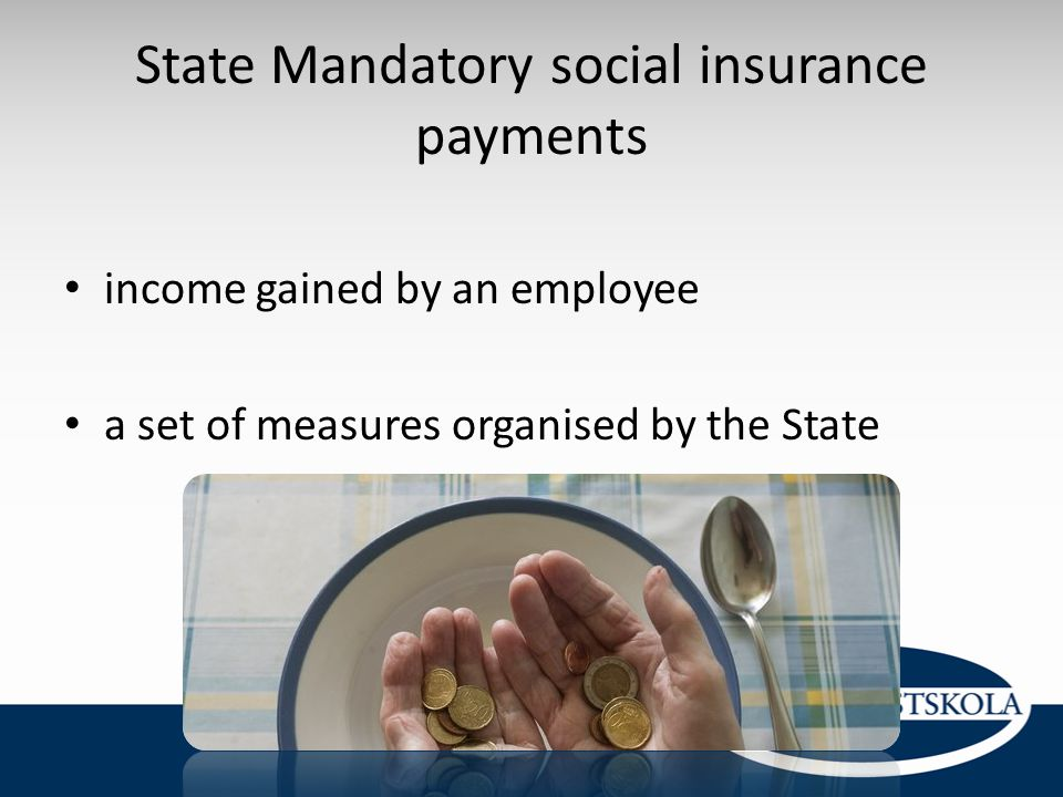 State Mandatory social insurance payments