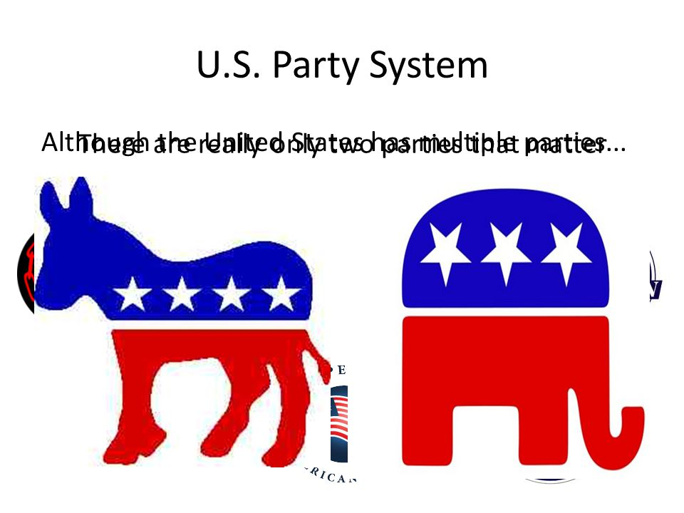 There are really only two parties that matter