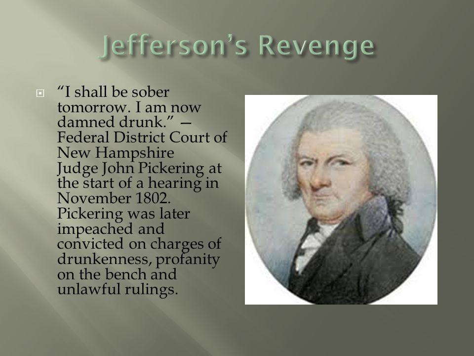 Jefferson's Revenge