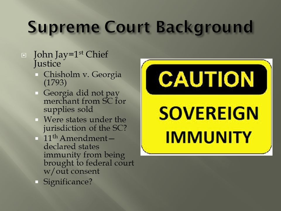 Supreme Court Background