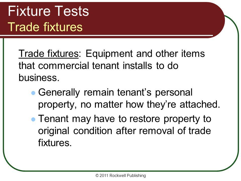 Fixture Tests Trade fixtures