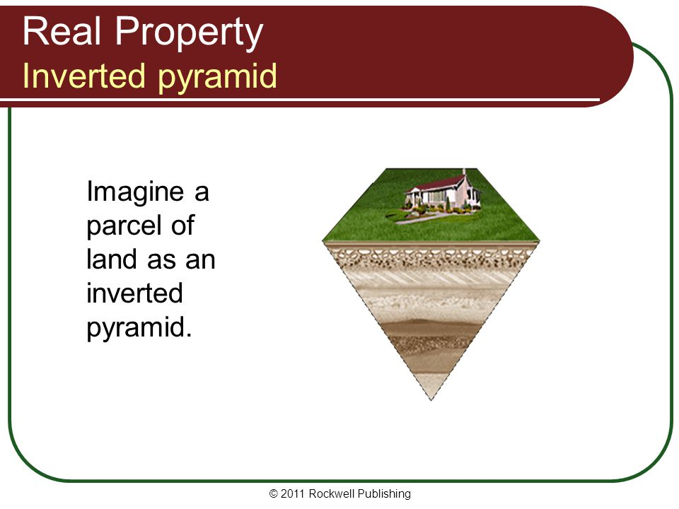 Real Property Inverted pyramid