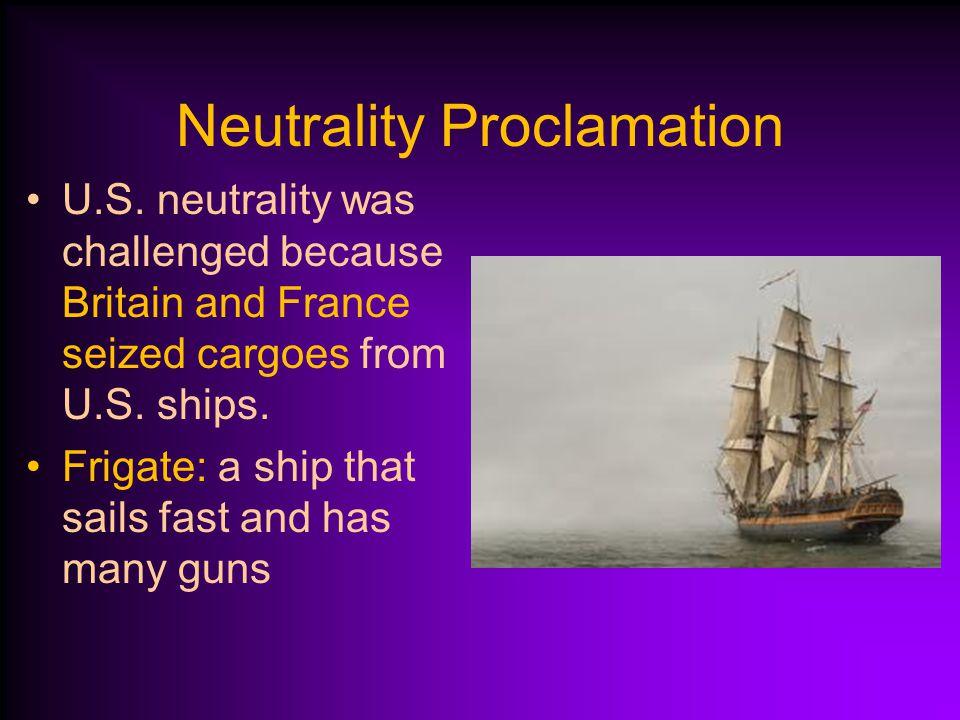 Neutrality Proclamation