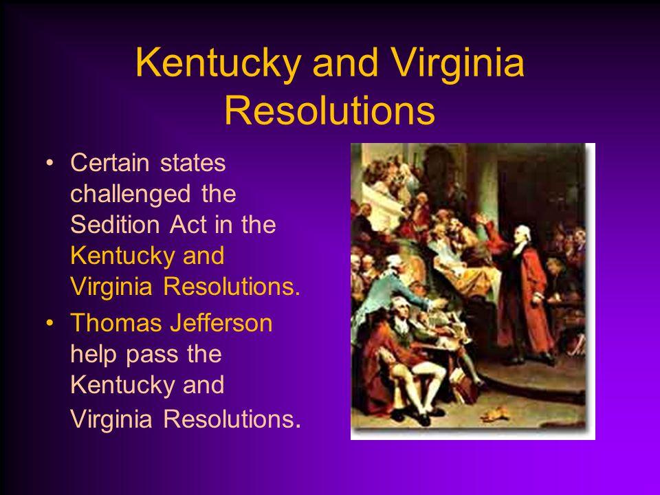Kentucky and Virginia Resolutions