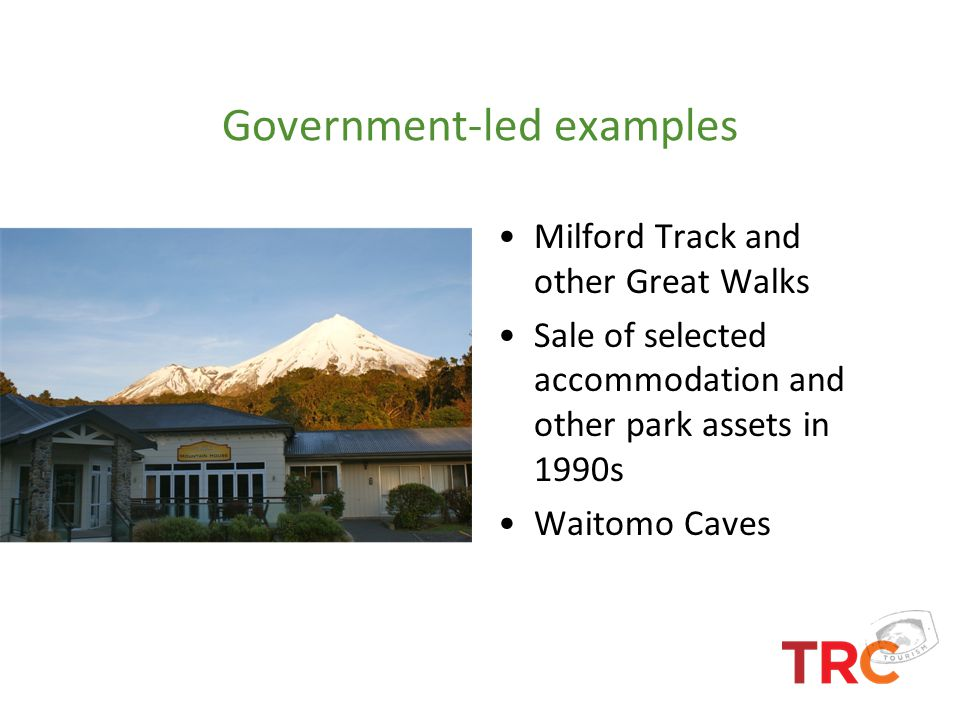 Government-led examples