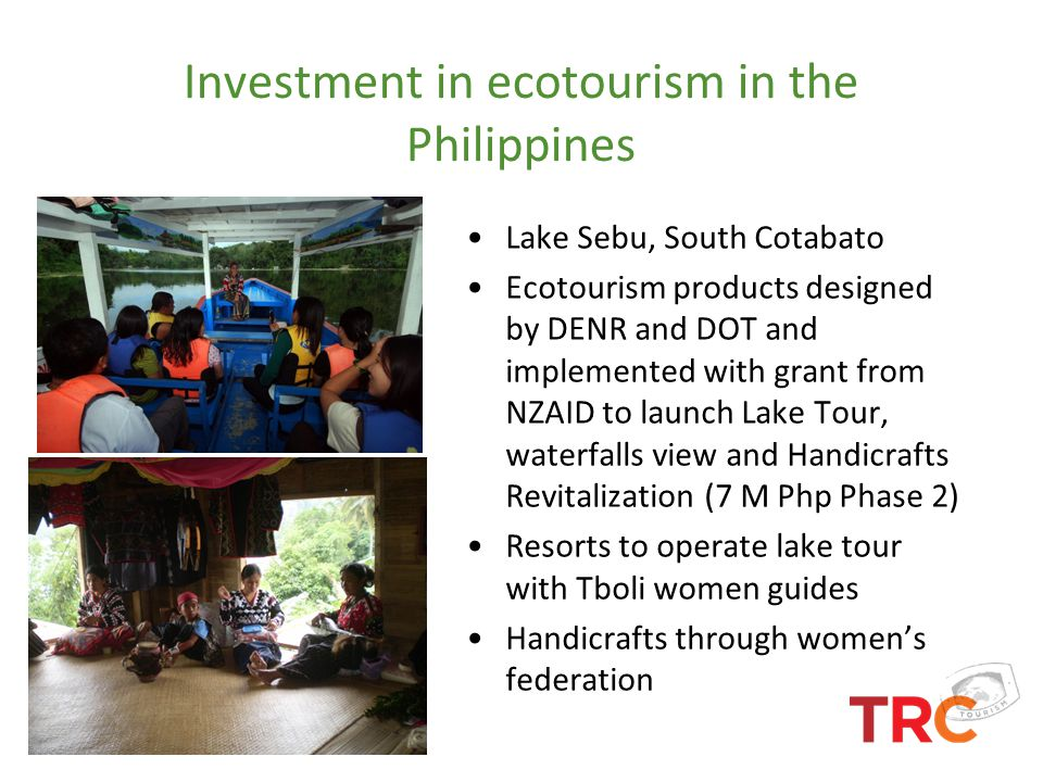 Investment in ecotourism in the Philippines