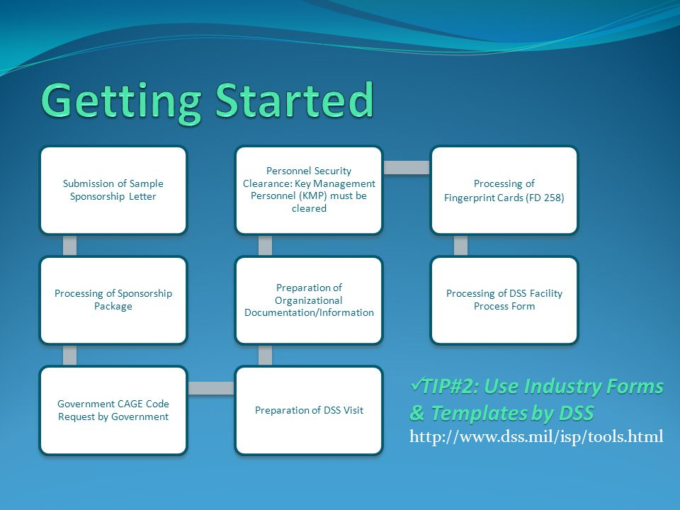 Getting Started TIP#2: Use Industry Forms & Templates by DSS