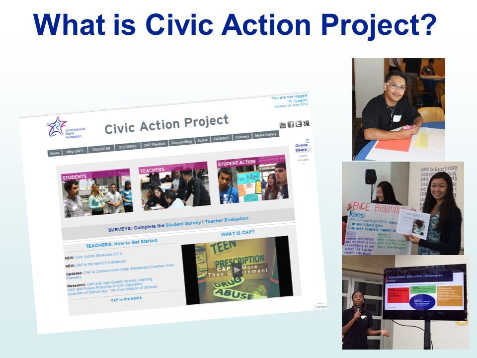 What is Civic Action Project