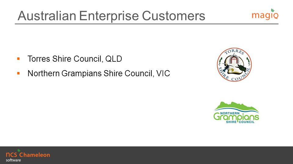 Australian Enterprise Customers
