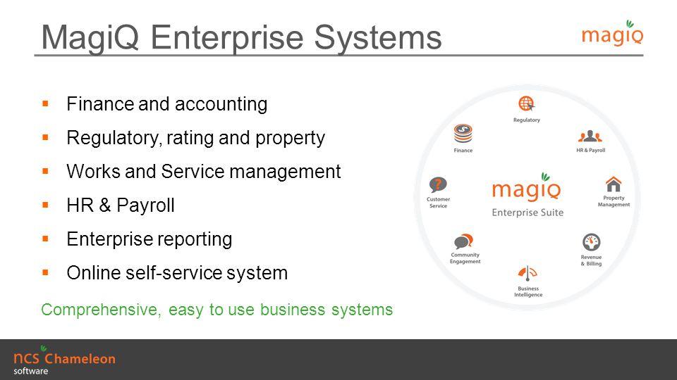 MagiQ Enterprise Systems