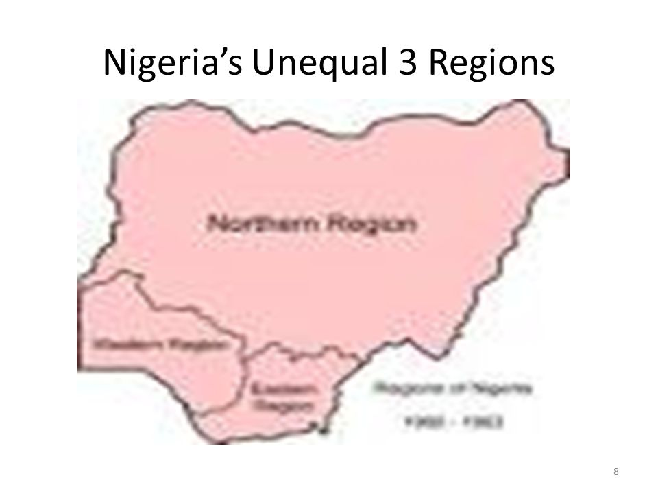 Nigeria's Unequal 3 Regions