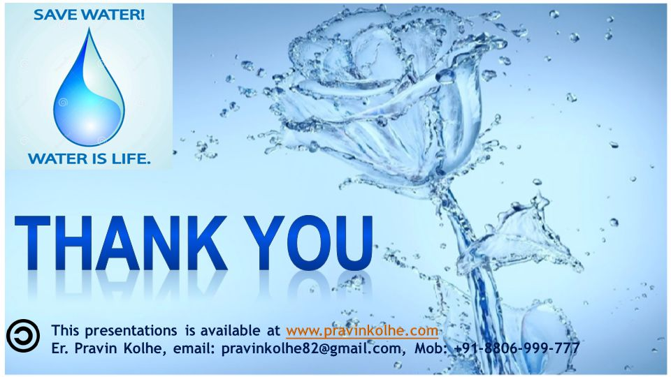 Thank You This presentations is available at www.pravinkolhe.com