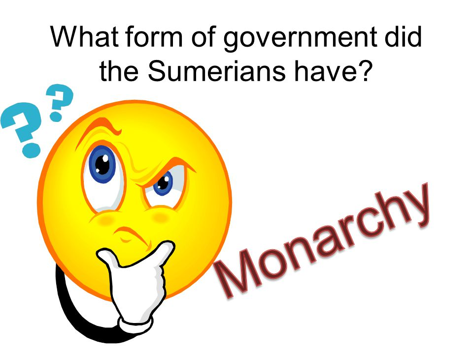 What form of government did the Sumerians have