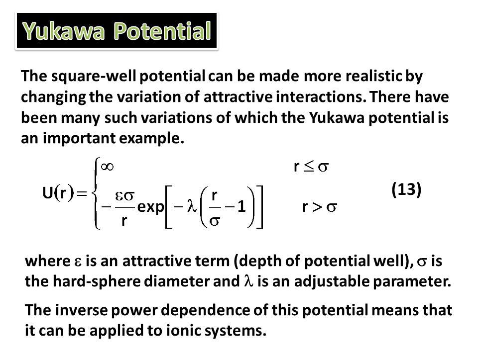 Yukawa Potential