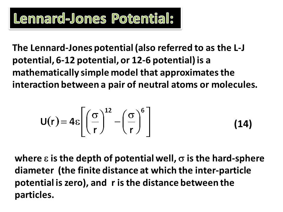 Lennard-Jones Potential: