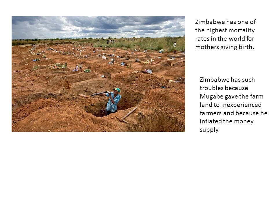 Zimbabwe has one of the highest mortality rates in the world for mothers giving birth.