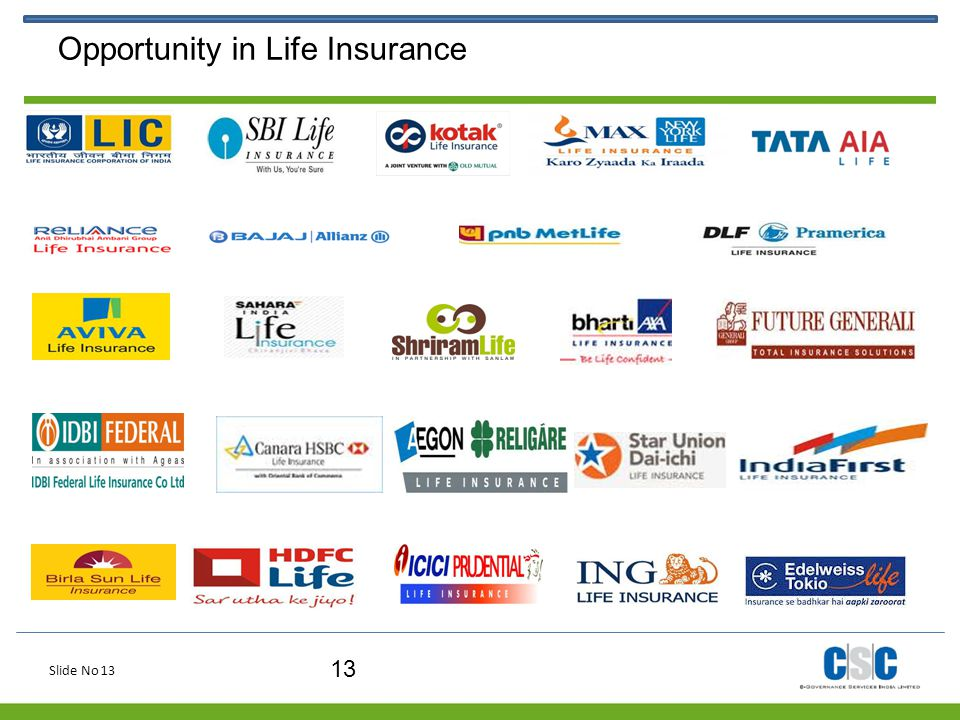 Opportunity in Life Insurance