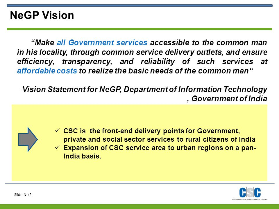 NeGP Vision