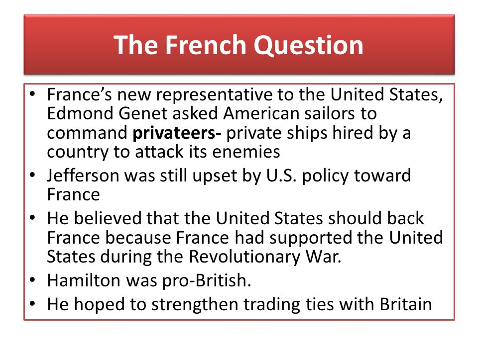 The French Question