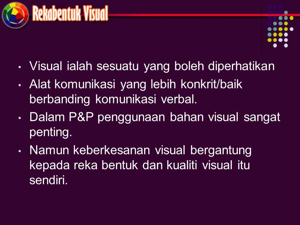 Visual ialah sesuatu yang boleh diperhatikan