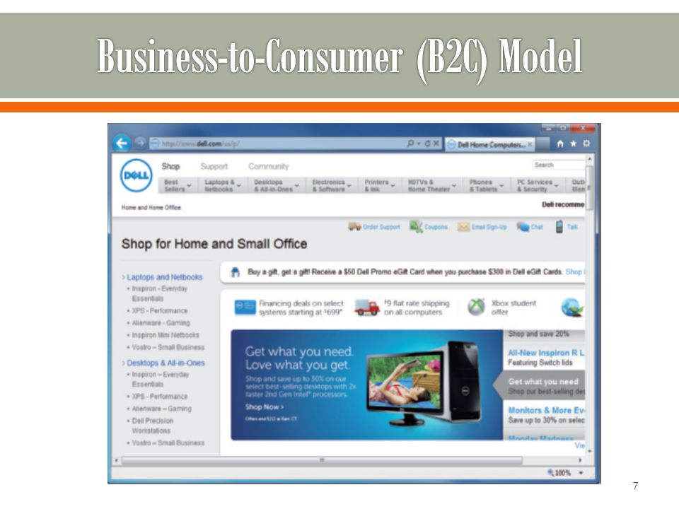Business-to-Consumer (B2C) Model