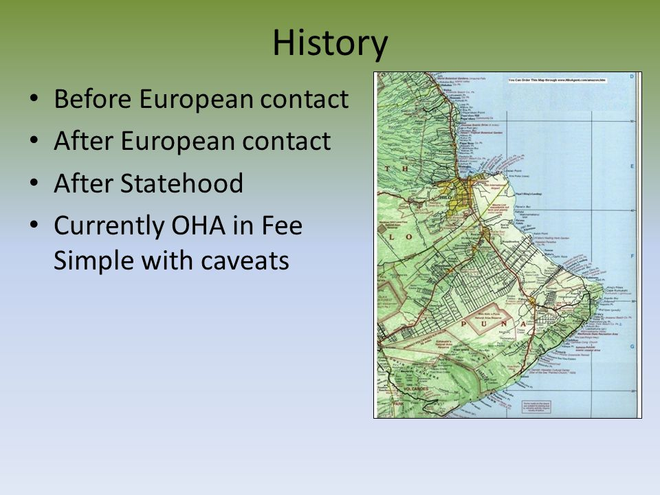 History Before European contact After European contact After Statehood