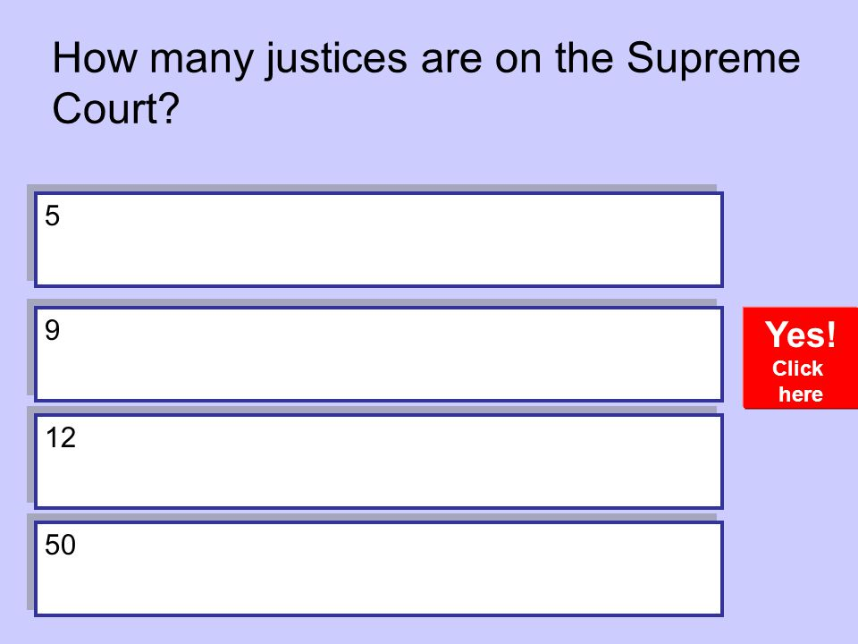 How many justices are on the Supreme Court