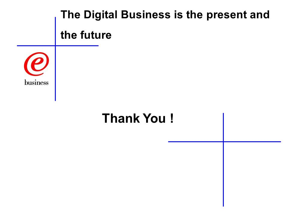 The Digital Business is the present and