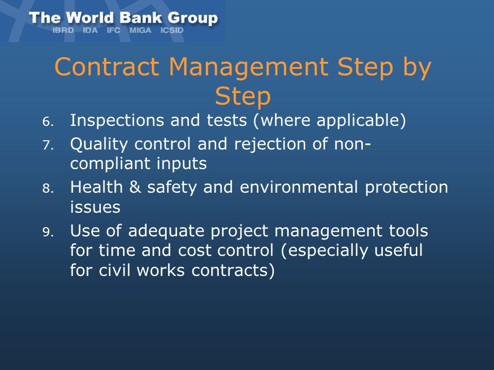 Contract Management Step by Step