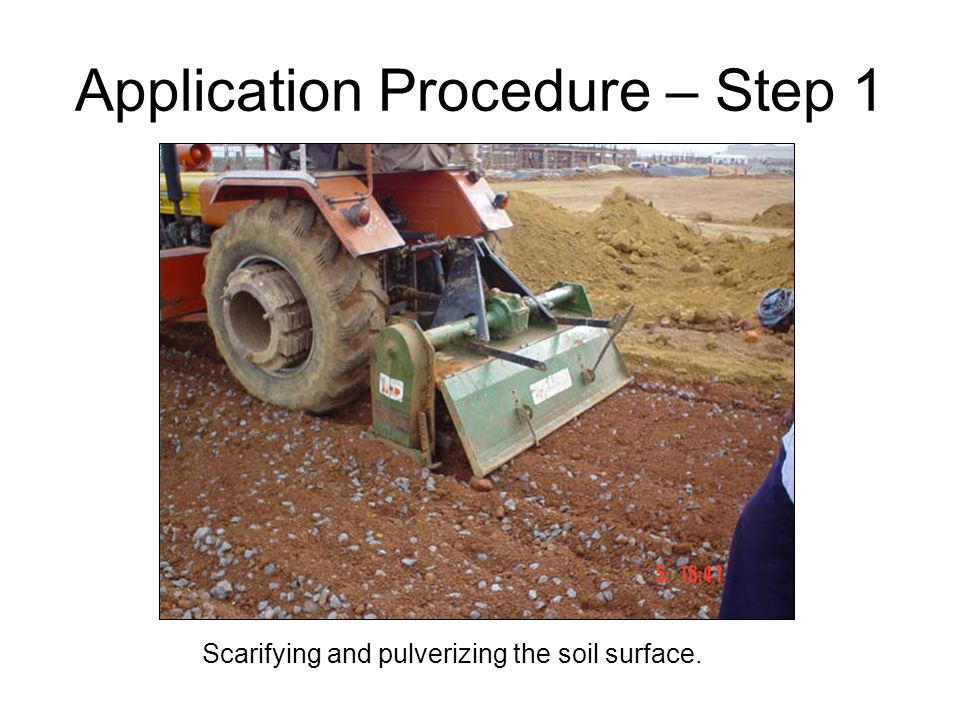Application Procedure – Step 1