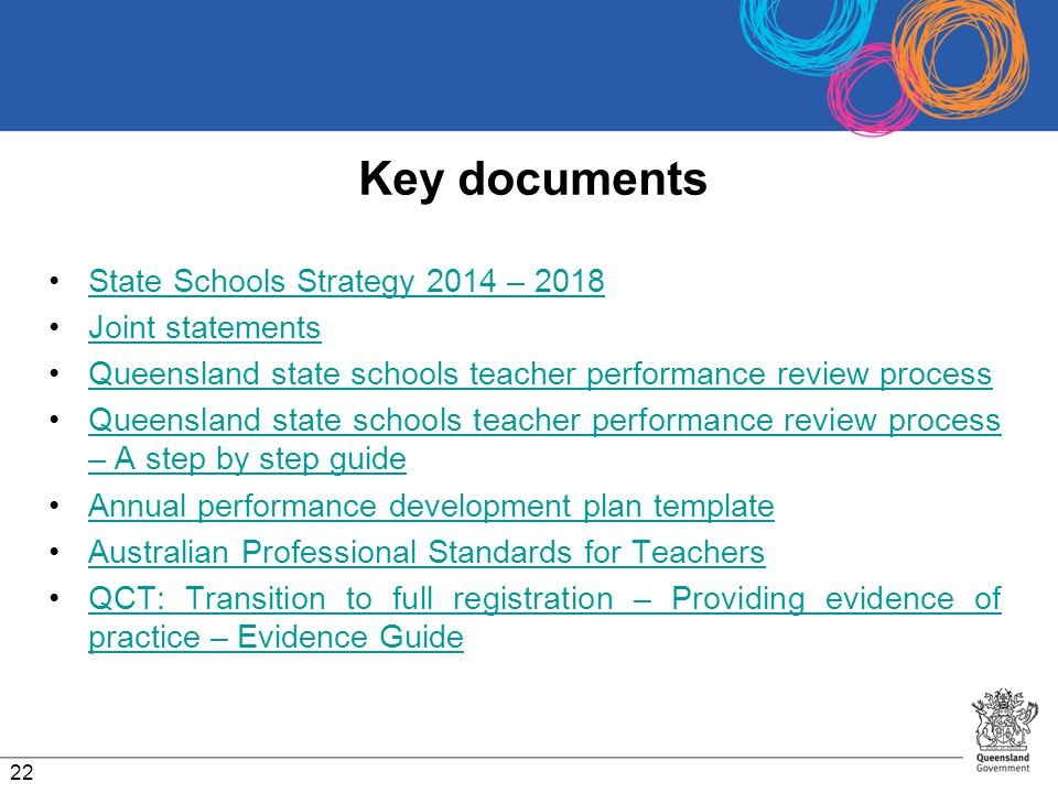 Key documents State Schools Strategy 2014 – 2018 Joint statements