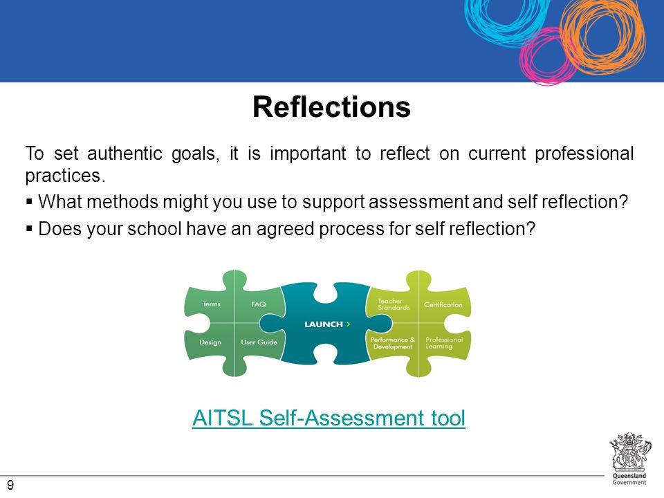 AITSL Self-Assessment tool