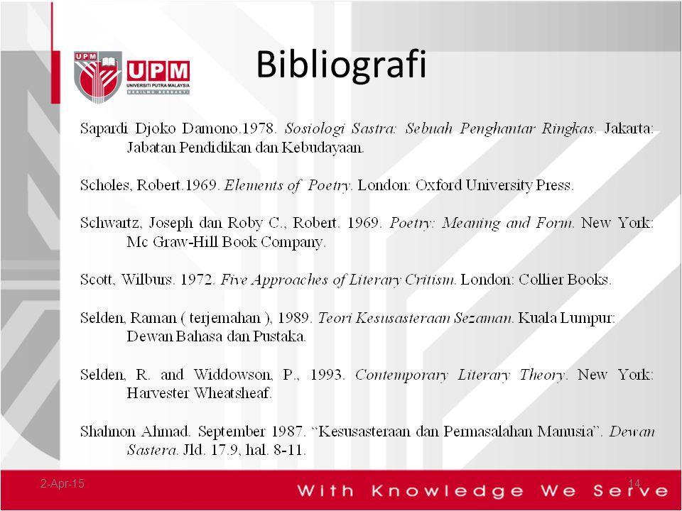 Bibliografi 9-Apr-17