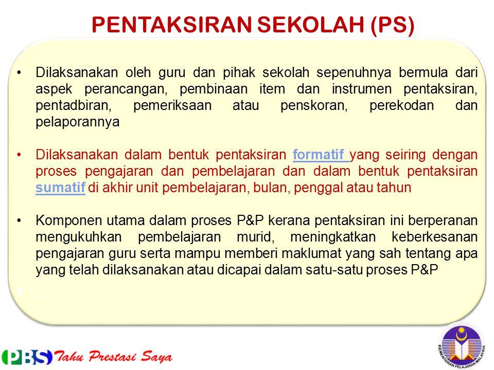 PENTAKSIRAN SEKOLAH (PS)