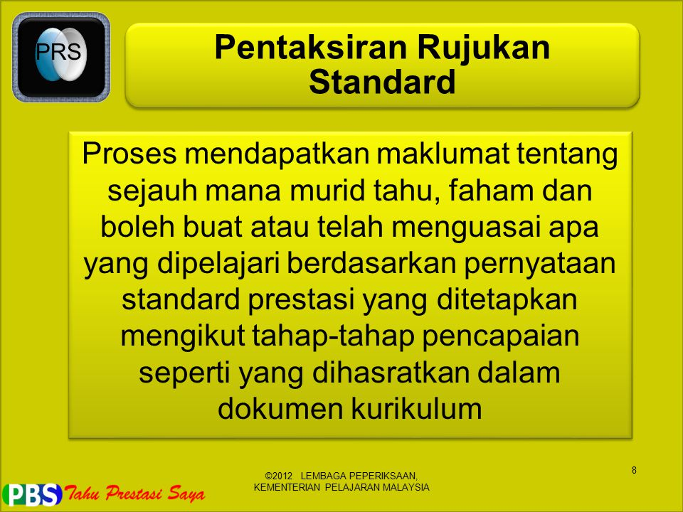 Pentaksiran Rujukan Standard