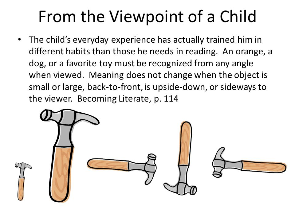 From the Viewpoint of a Child